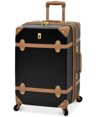 "Image of CLOSEOUT! London Fog Retro 24"" Expandable Spinner Suitcase"