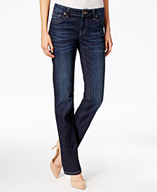 Kut from the Kloth Petite Stevie Straight-Leg Jeans