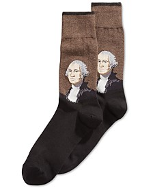 Hot Sox Men's Socks, George Washington Dress