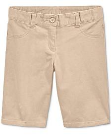 Nautica Little Girls School Uniform Bermuda Shorts