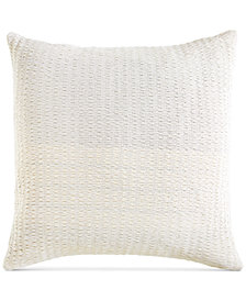 DKNY City Pleat White European Sham