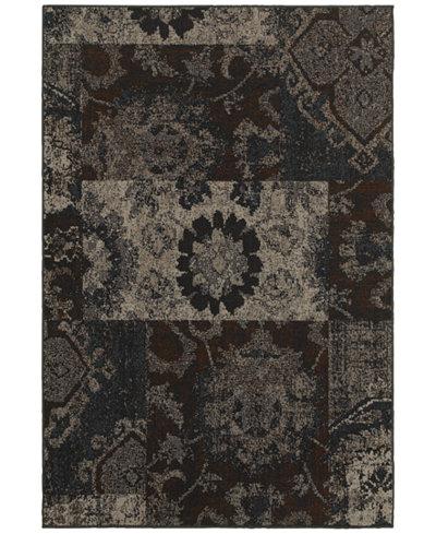 CLOSEOUT! Oriental Weavers Revamp REV7712C Grey 6'7