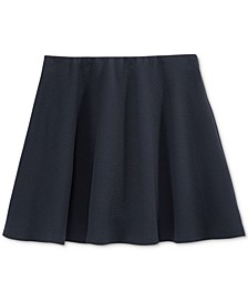 Girls' Basket-Weave Scooter Skirt, Big Girls