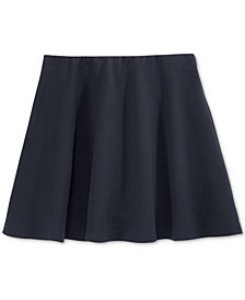 Nautica Girls' Basket-Weave Scooter Skirt, Big Girls
