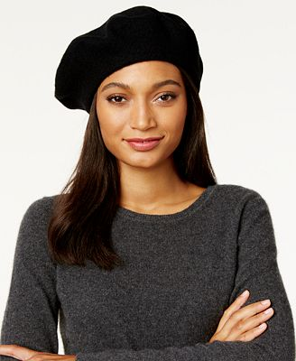 I.N.C. Solid Beret, Created for Macy's