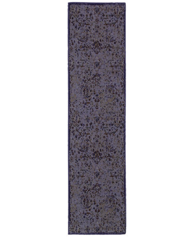 CLOSEOUT! Oriental Weavers Revamp REV7692E Violet 1'10