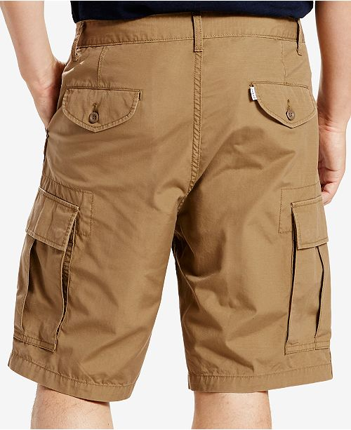 6dc54cc649 Levi's Men's Carrier Loose-Fit Cargo Shorts & Reviews - Shorts - Men ...