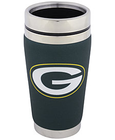 Hunter Manufacturing Green Bay Packers 16oz Stainless Steel Travel Tumbler