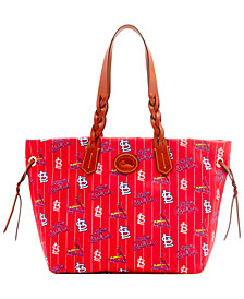 Dooney & Bourke Nylon Shopper Tote MLB Collection