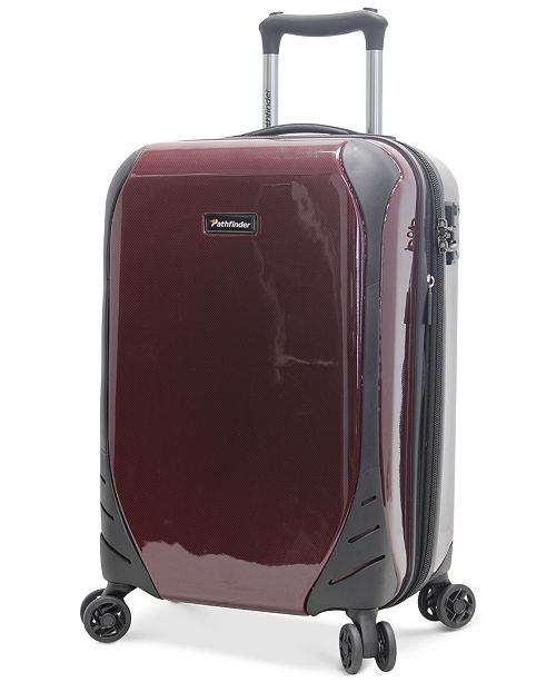"""Pathfinder CLOSEOUT!  Aviator 29"""" Expandable Hardside Spinner Suitcase, Created for Macy's"""