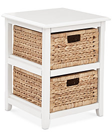Darina 2-Tier Storage Unit, Quick Ship