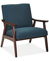 Blue Accent Chairs And Recliners Macy S