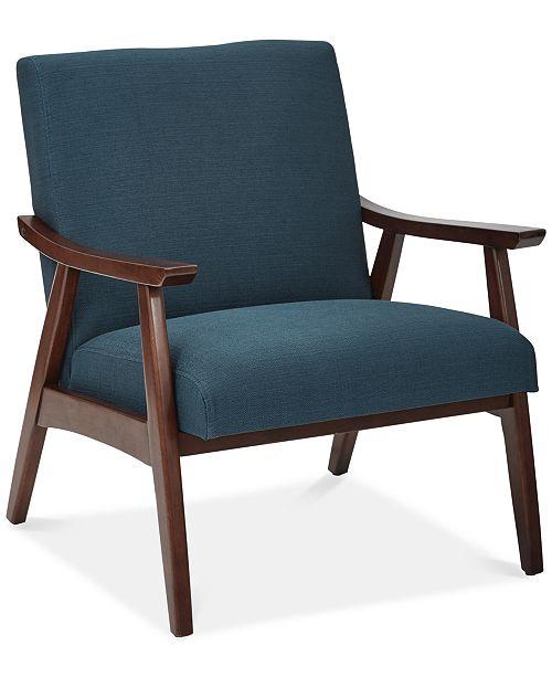 Furniture Zeena Accent Chair, Quick Ship