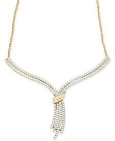 Diamond Statement Necklace (1 ct. t.w.) in 14k Gold
