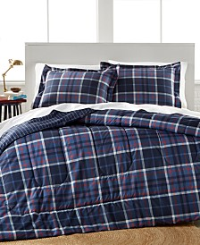 Graham Plaid 3 Piece Full/Queen Comforter Set