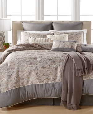 Closeout Onyx 10Pc Queen Comforter Set Bedding