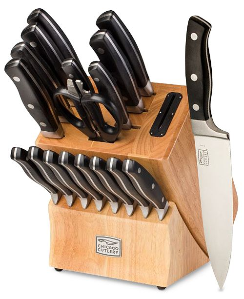 Chicago Cutlery Chicago Insignia 2 18 Piece Cutlery Set Cutlery