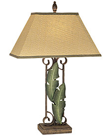 Pacific Coast Banana Leaves Table Lamp
