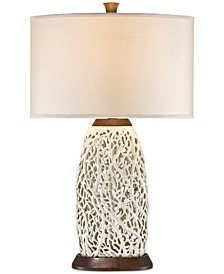 Pacific Coast Seaspray Table Lamp Wood