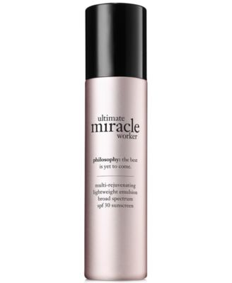 ultimate miracle worker lightweight emulsion SPF 30, 1.5 oz