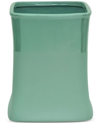 Kensley Aqua Wastebasket