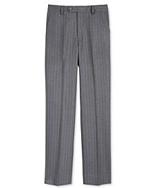 Charcoal Stripe Nested Pants, Big Boys