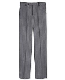 Charcoal Stripe Nested Pants, Big Boys