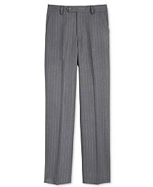 Lauren Ralph Lauren Charcoal Stripe Nested Pants, Big Boys