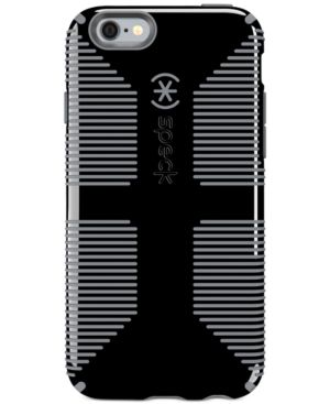 SPECK Candyshell Grip Phone Case For Iphone 6/6S in Black/Slate Grey