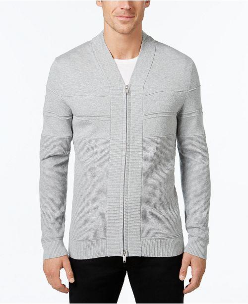 Alfani Full-Zip Shawl Collar Cardigan Sweater, Created for Macy's