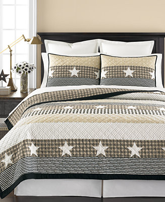 Martha Stewart Collection Texan Star Quilts Created For