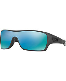 Oakley Polarized Turbine Rotor Prizm Deep Water Sunglasses, OO9307