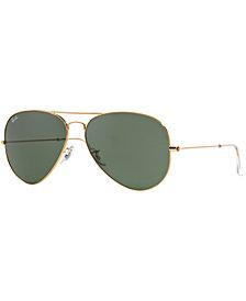 Ray-Ban Sunglasses, RB3026 AVIATOR II LARGE