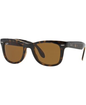 Ray-Ban Folding Wayfarer Sunglasses, RB4105 50