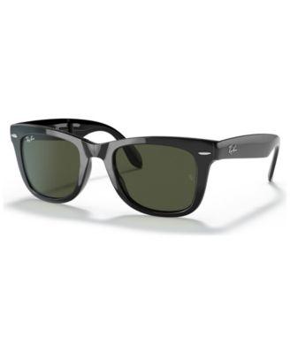 folding sunglasses  Ray-Ban FOLDING WAYFARER Sunglasses, RB4105 50 - Sunglasses by ...