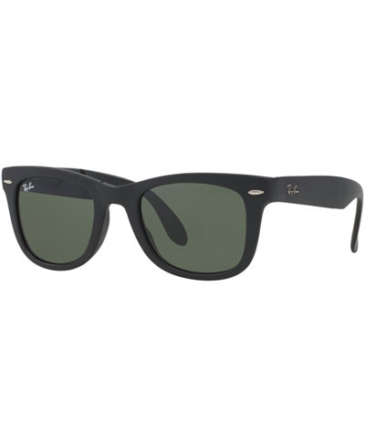 Ray-Ban Sunglasses, RB4105 50 FOLDING WAYFARER