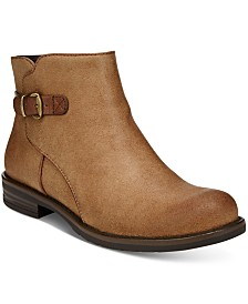 Leather Ankle Boots: Shop Leather Ankle Boots - Macy's