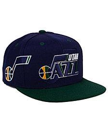 adidas Utah Jazz 2016 Draft Snapback Cap