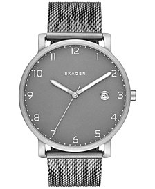 Skagen Hagen Stainless Steel Mesh Bracelet Watch 40mm SKW6307