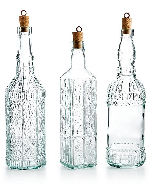 Bormioli Rocco Country Home Bottle Collection Glassware - Best free invoice software for mac rocco online store