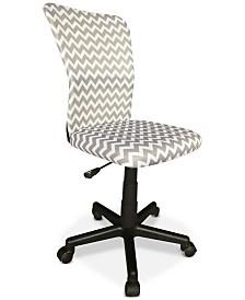 Kerrin Mesh Printed High Back Chair, Quick Ship