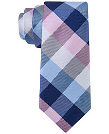 Tommy Hilfiger Buffalo Grid Tie, Big Boys