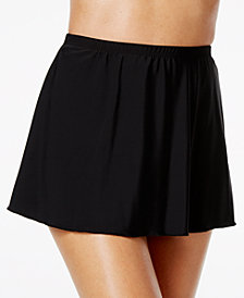 Miraclesuit High-Waist Allover Slimming Swim Skirt