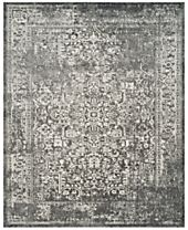 CLOSEOUT! Safavieh Evoke EVK256D Grey/Ivory Area Rugs