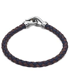 d69db535f3941 Men's Leather Bracelets: Shop Men's Leather Bracelets - Macy's
