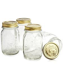 Bormioli Rocco Quattro Stagioni 17oz. Canning Jars, Set of 4