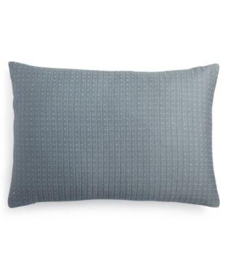 "Quilted Metallic Dash 15"" x 22"" Decorative Pillow"