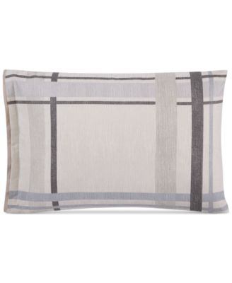 Modern Plaid Standard Shams, Set of 2, Created for Macy's