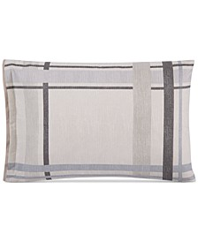 CLOSEOUT! Modern Plaid Standard Shams, Set of 2, Created for Macy's