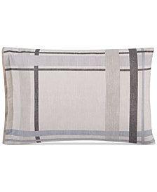 Hotel Collection Modern Plaid Standard Shams, Set of 2, Created for Macy's